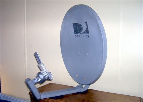 repurposed satellite dish antenna captures wi fi and cell phone signals
