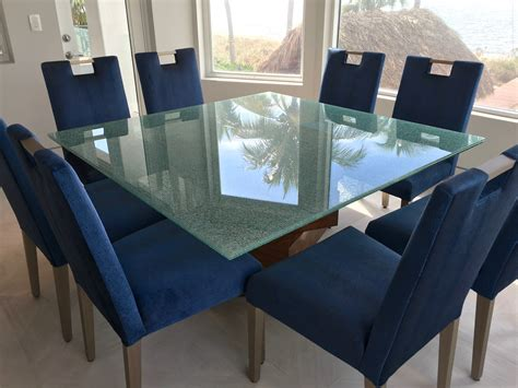 glass table top cracked glass table top builders glass of bonita inc