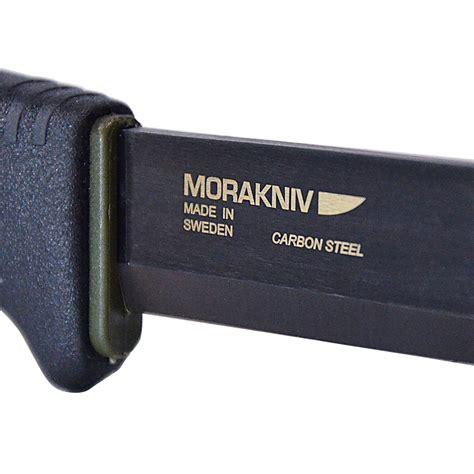 morakniv bushcraft carbon black morakniv bushcraft carbon black tactical knife with 0 125