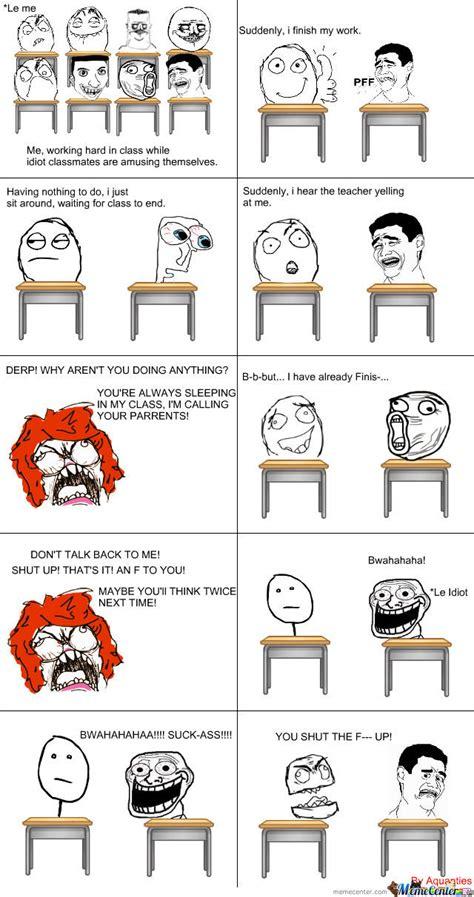 I Hate School Meme - i hate school by aquanties meme center