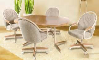 Dining Room Chairs With Rollers Dining Room Chairs With Wheels All Chairs Design