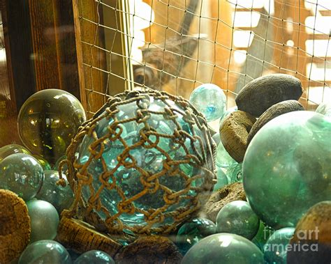 japanese glass green glass japanese glass floats photograph by artist and