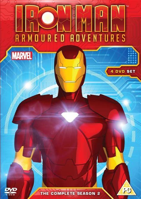 Iron Dvd Box Set Collection Koleksi iron armored adventures season 2 box set dvd zavvi