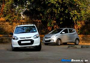 Hyundai Eon Diesel Launch Date Hyundai Eon Vs Maruti Alto 800 Shootout Review Autos Post