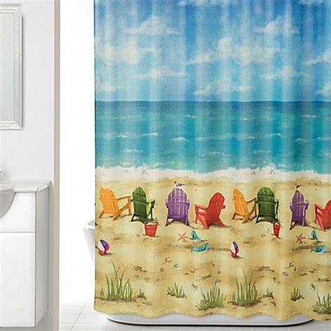 bed bath and beyond long beach beach themed shower curtain bed bath and beyond curtain