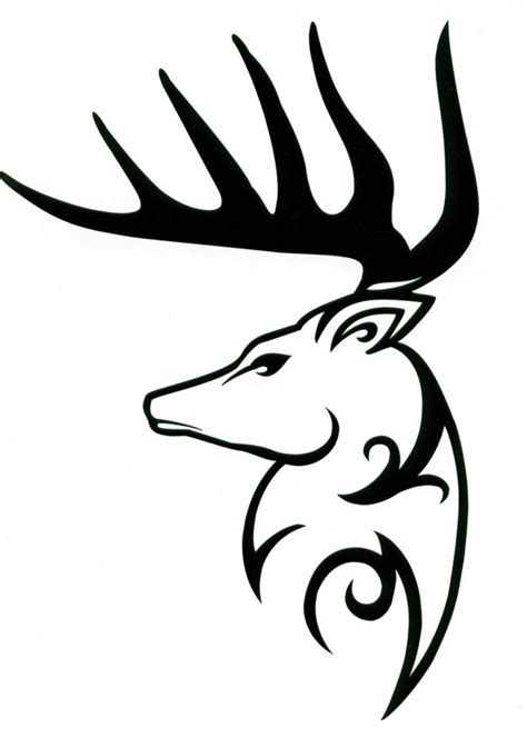 tribal buck tattoo 37 tribal deer tattoos ideas and designs