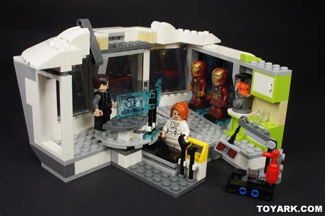 Lego 76007 Iron Malibu Mansion Attack lego marvel heroes iron 3 malibu mansion attack 76007 the toyark news