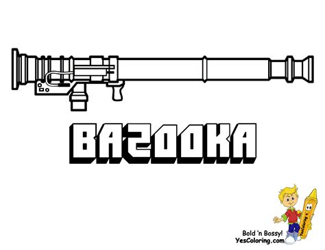 free printable coloring pages of guns free coloring pages of army gun