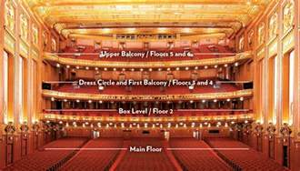 Lyric Theatre Floor Plan lyric opera lyric opera seating chart