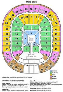 Rod Laver Floor Plan by Wwe Live World Tour Presented By Dainty Group