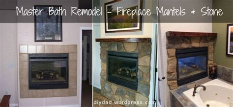 Redo Fireplace Cost by Master Bath Remodel Fireplace Phase Mantels The O
