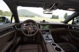 Interior Of Porsche Panamera 2017 Porsche Panamera Drive Review Motor Trend