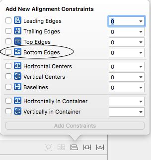 bottom layout guide constraint ios constraint to bottom layout guide with tabbar issue