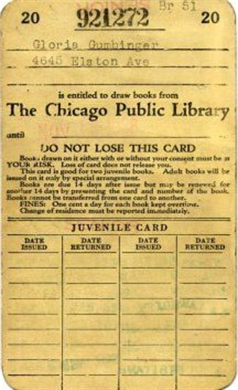 vintage library card template 1000 images about chicago mw 15 here we come on