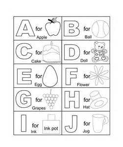 Galerry spanish alphabet coloring worksheet