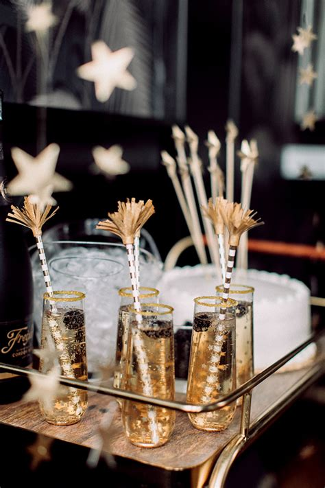 new year ideas sparkling new year bar ideas for the ultimate