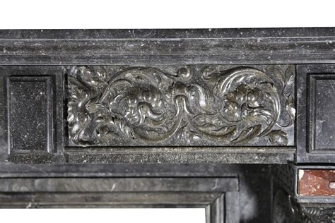 19th century belgian antique fireplace mantel for sale at