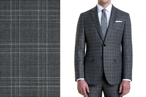 pattern shirt with dark gray suit grey checkered suits dress yy