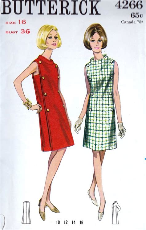 1209 best 1960's vintage Patterns images on Pinterest   Vintage dresses, Sewing patterns and