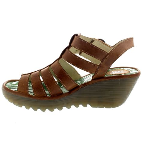 wedge heel gladiator sandals fly ygor rug wedge heel leather gladiator