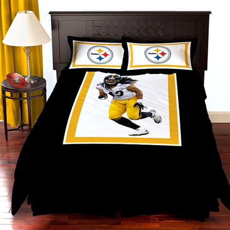 pittsburgh steelers bedding biggshots nfl comforter sets