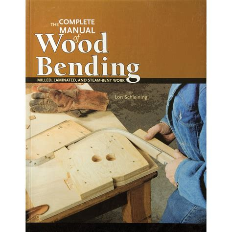 complete manual  wood bending book  ebay