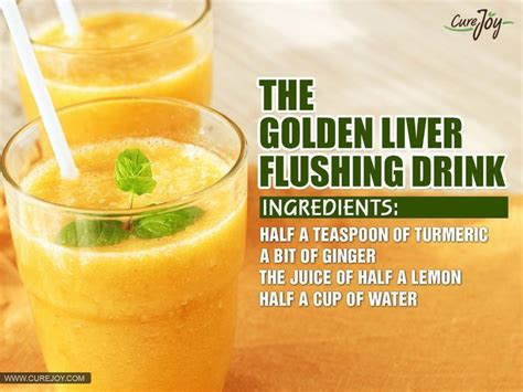 Juice Recipe Detox Liver by 3 Simple Liver Detoxing Drinks That Flush Toxins From Your