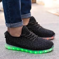 jizax yeezy light up shoes black jizax
