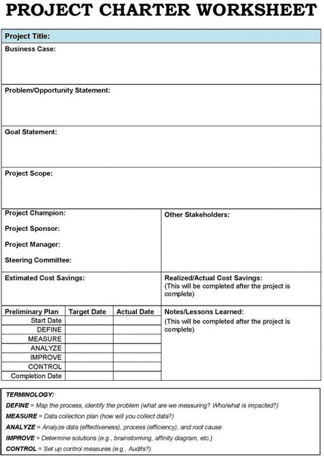 Agile Artifacts Templates by Project Charter Template Project Management And Agile