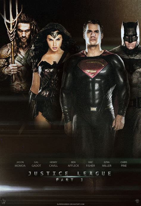 film justice league part 1 justice league part 1 poster by superdude001 on deviantart