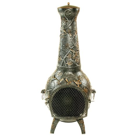 inspirations incredible cast iron chiminea