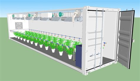 containers  motion growgantua  growhouse container