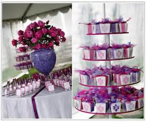 mariage violet d 233 coration mariage tendance
