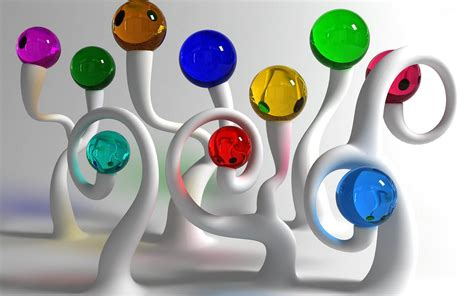 colorful glass wallpaper wallpapers glass balls wallpapers