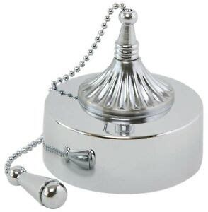 Bathroom Ceiling Light Pull Cord Switch Nucleus Home Chrome Decorative Bathroom Ceiling Pull Switch Fpk4 Ch 29 Ebay