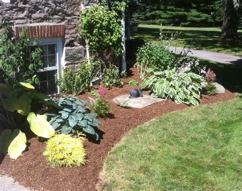 low maintenance backyard design low maintenance garden bed r havery landscaping