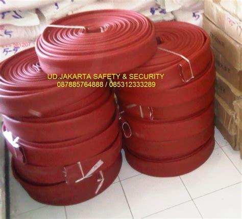 Selang Air Pemadam Kebakaran 2 5x30 10 Bar Canvas Coupling Storz Murah sell distributor agen hose rubber karet nbr syntex selang air pemadam kebakaran api 2