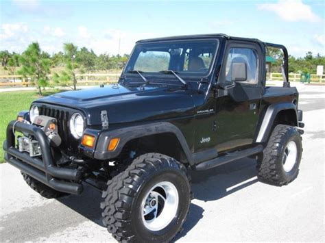 Used Jeeps For Sale By Owner Jeep Wrangler Se 4x4 1998 For Sale By Owner In Chicago