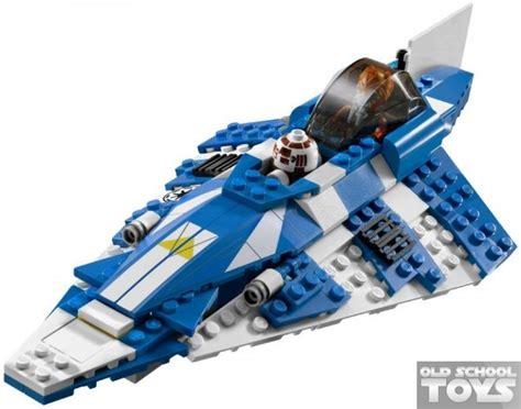 Lego 8093 Plo Koons Jedi Starfighter lego 8093 wars plo koon s jedi starfighter en doos school toys