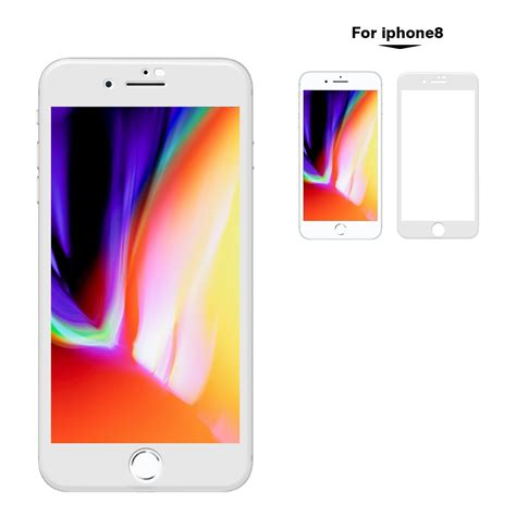 front back tempered glass screen protector 3d iphone 8 plus
