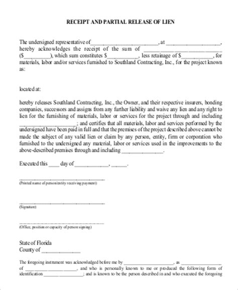 G706 Contractor U0027s Affidavit Of Payment Of Debts And G706a Claims Bill Of Sale Form Partial Waiver Of Lien Template