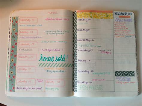 Handmade Planners - planner peek melinda i planners