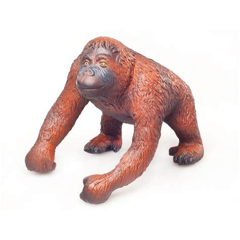 rubber toys green rubber toys orangutan