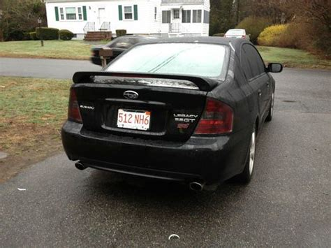 2005 subaru legacy custom purchase used black subaru legacy gt custom grill custom