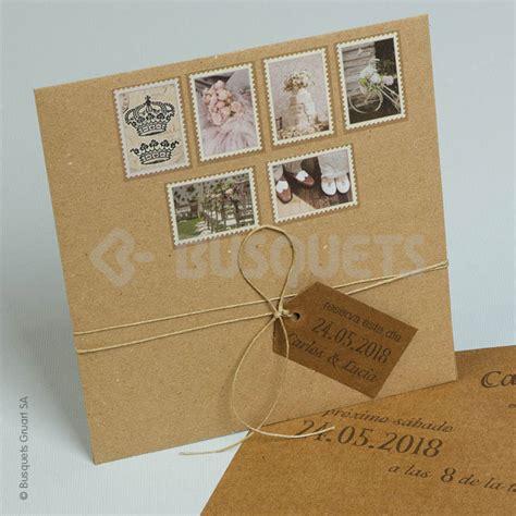 invitaciones originales para anunciar tu boda nosotras invitaciones originales busquets