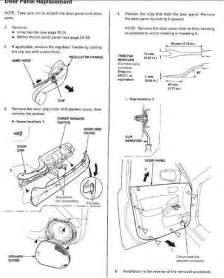 honda power window wiring diagram