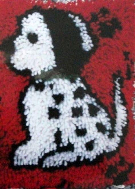 caron latch hook rug kits spot the dalmation latch hook rug kit 12 quot x 12 quot 426184 caron wonderart latch hook