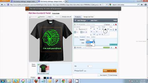 desain kaos online fnk desain kaos online avi youtube
