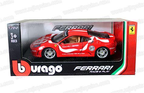 B Burago1 43 Laferrari Race Play Color New In bburago 1 24 race play f430 fiorano mj toys inc