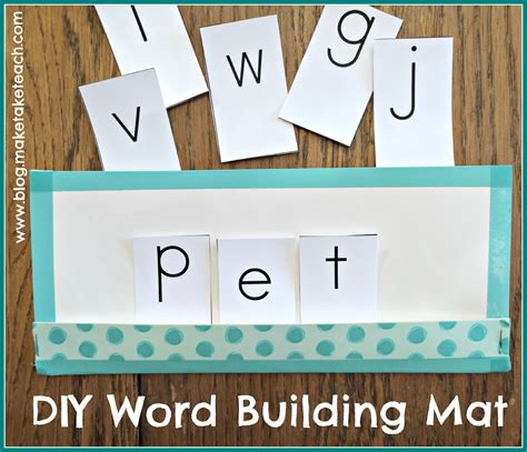 printable word building games 8 great ideas for teaching segmenting and blending make